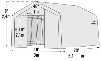 Размер и габариты теплицы
